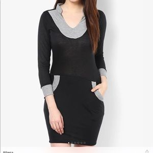 Dresses & Skirts - Women's casual midi dress with 3/4 sleeves